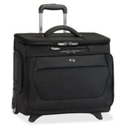 "Solo US Luggage 15.6"" Laptop Rolling Catalog Case -USLCLS9204"