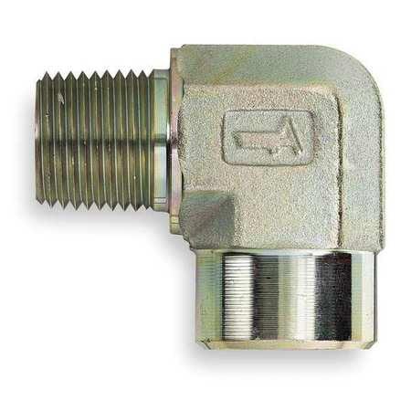 Elbow Hose Adapter - EATON 2089-20-20S Hose Adapter, MNPT x FNPT, 90 Deg Elbow