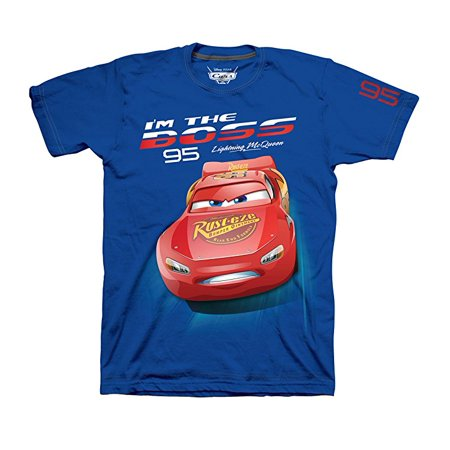 Disney Cars 3 Toddler Boys McQueen T Shirt (Toddler Boys) - Disney Boo Halloween Shirt