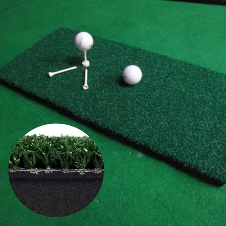 "Meigar Nylon Golf Practice Mat 12"" x 24"" Hitting Grass Driving Holder Training Backyard - image 1 of 9"