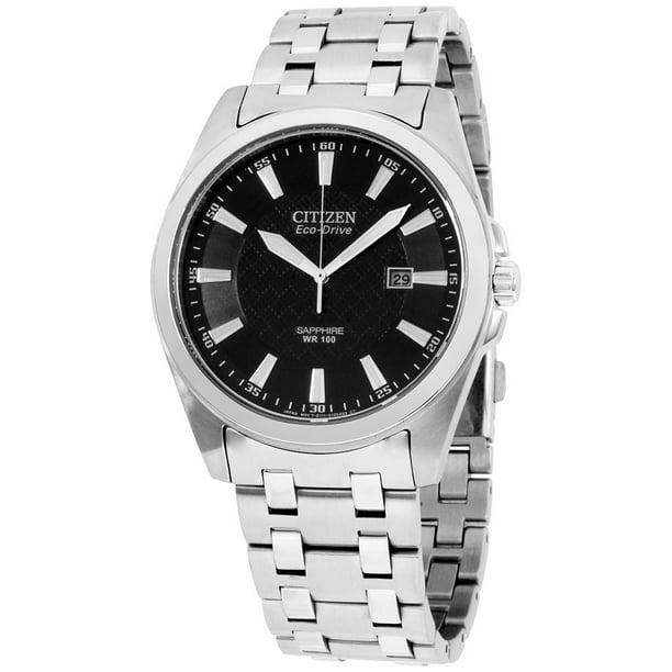 Citizen Men's Eco-Drive Stainless Steel Watch BM7100-59E