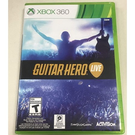 Guitar Hero: Live for Xbox 360 (Game ONLY) (Refurbished) (Xbox 360 Games Guitar Hero)