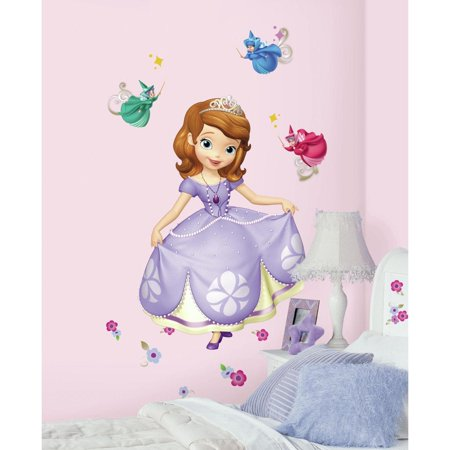New Disney Princess Sofia The First Giant Wall Decals S Room Decor Stickers
