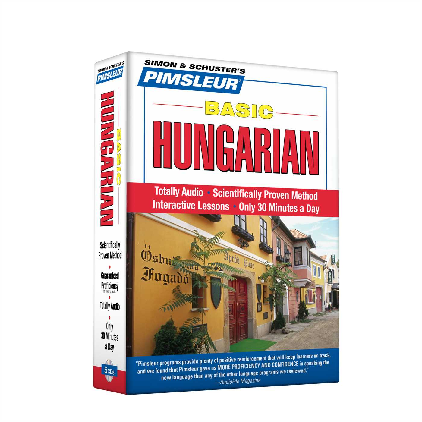 Pimsleur Hungarian Basic Course - Level 1 Lessons 1-10 CD : Learn to Speak and Understand Hungarian with Pimsleur Language Programs