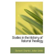 Studies in the History of Natural Theology