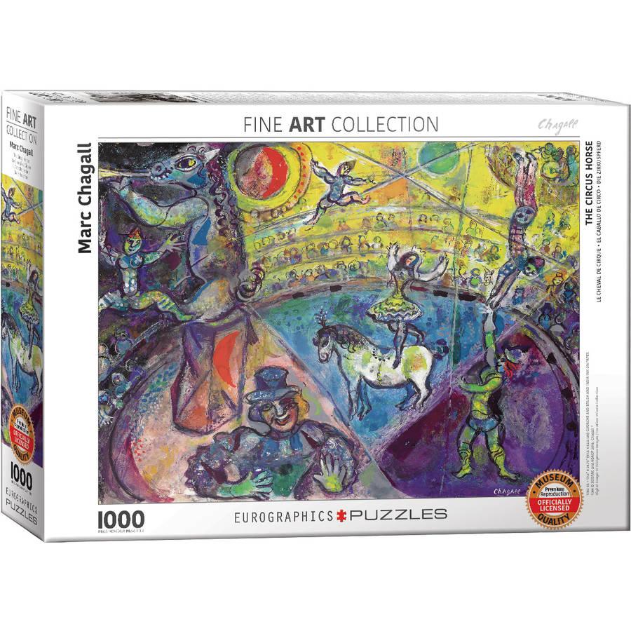 Marc Chagall Le Cheval de Cirque 1000-Piece Puzzle by EuroGraphics