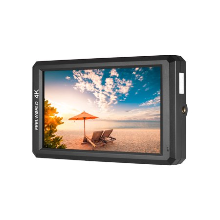 FEELWORLD F6 5.7inch IPS 1080P Camera Field Monitor Support 4K HD Input 1400:1 High Contrast for Canon Nikon Sony Panasonic