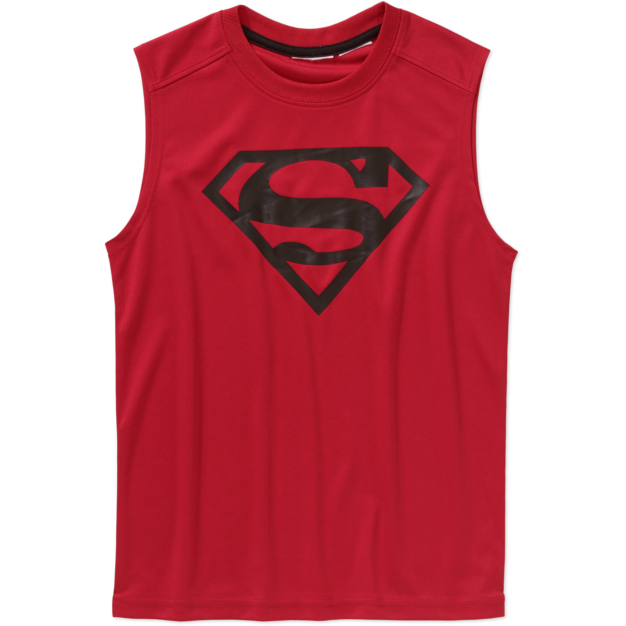 DC Comics Superman Boys' Poly Muscle Top