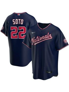 Juan Soto Washington Nationals Nike Alternate 2020 Replica Player Jersey - Navy
