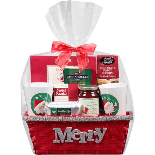 Designpac Gifts Holiday Picnic Basket Gift