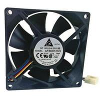 Delta 23-8025-01 80 x 80 x 25 mm. Ball Bearing Cooling Fan