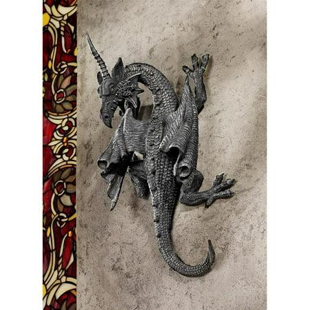 Design Toscano Horned Dragon of Devonshire Wall Sculpture ()