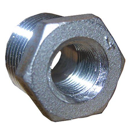 0.25 x 0.125 Stainless Steel Hex (0.125 Stainless Steel Cable)
