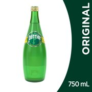 Perrier Carbonated Mineral Water, 25.3 fl oz. Glass Bottle