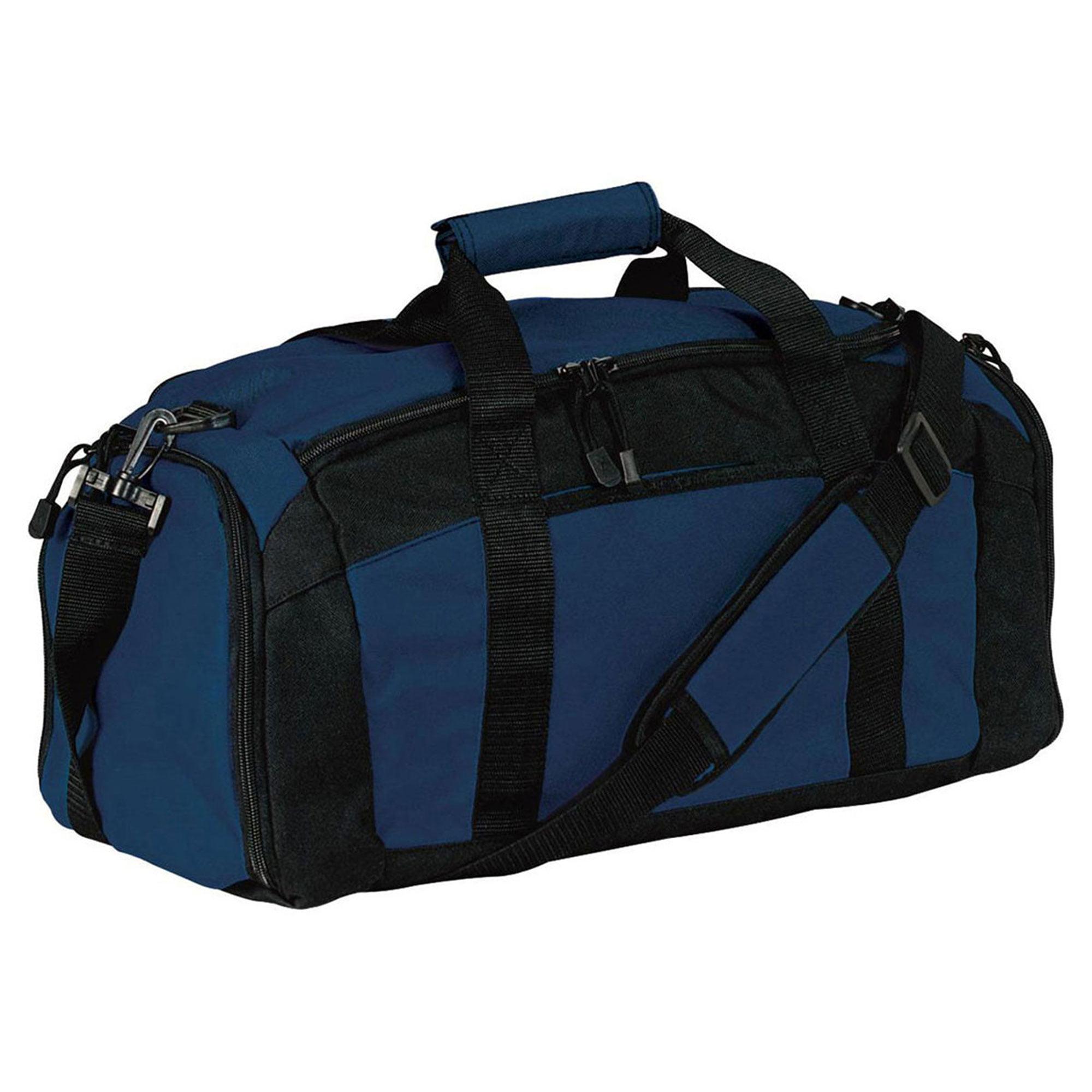 Gym Bag Walmart: Port & Company Zippered Pocket Shoulder Strap Gym Bag