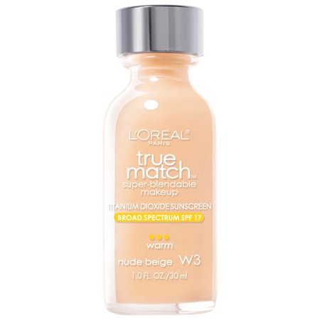 Loreal Paris True Match Super Blendable Makeup Foundation  1 0 Fl Oz