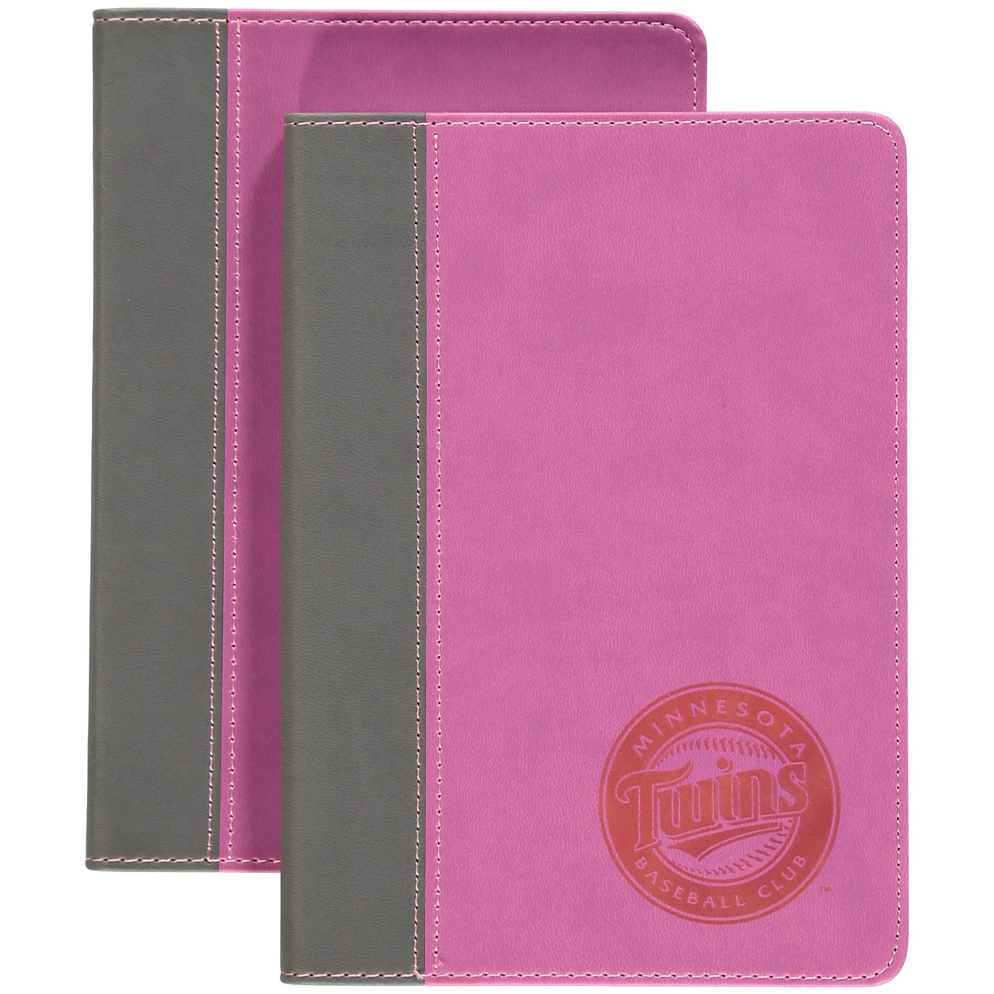 Pink Writing Journal - Minnesota Twins Minnesota Twins NDBBMINJP