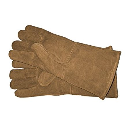 Panacea Products 15331 Fireplace Hearth Leather Gloves ()