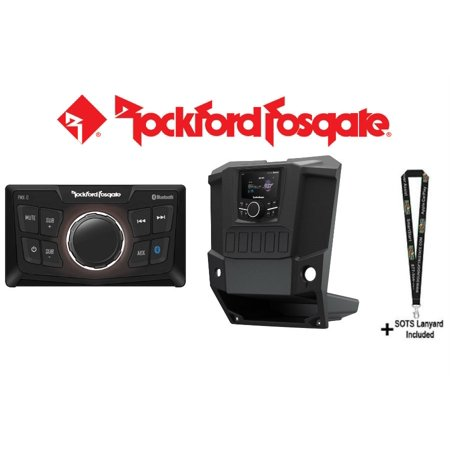 Rockford Fosgate RFRNGR-PMXDK w/ Rockford Fosgate PMX-0 PMX dash kit for select RANGER® models and Ultra Compact Digital Media (Winchester Model 94 Ranger Compact 357 Magnum)