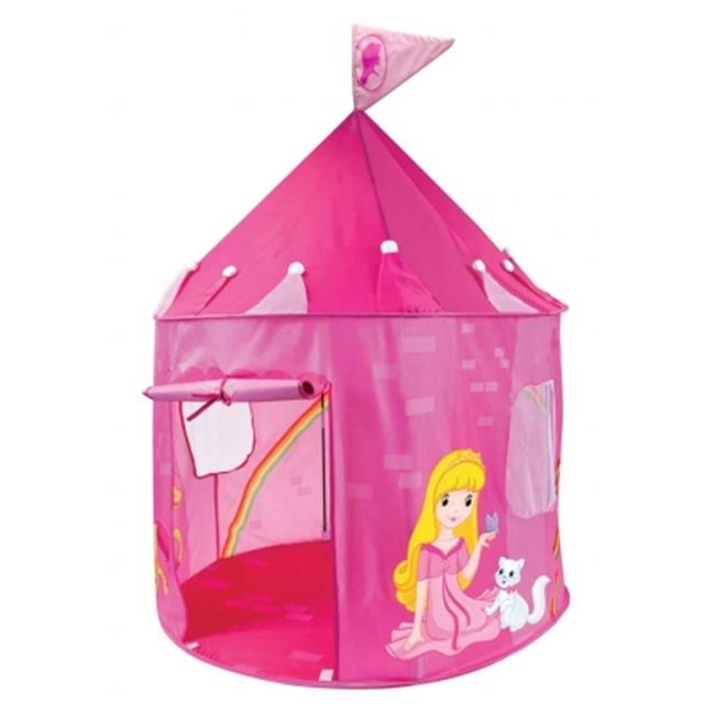 Brybelly TTNT-001 Girl's Pink Princess Play Castle Pop Up Tent