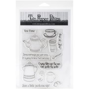 "Two Paper Divas Clear Stamps 8.5""X4.5""-Cup Of Joy"