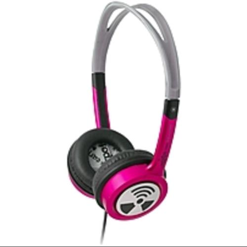 ifrogz Toxix Headphones - Stereo - Hot Pink - Wired - 32 Ohm - 18 (Refurbished)