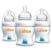 Munchkin LATCH Anti-Colic Baby Bottle, BPA Free, 4oz, 3 Pack