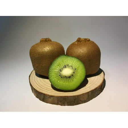 Framed Art for Your Wall Kiwi Special Dumb Kiwi Kiwi Slices Wood Base 10x13 Frame - Wall Of Dub Halloween