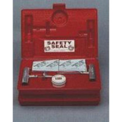 "Heavy Equipment Tire Repair Kit, With 18 16"" Inserts, Tool, Heavy Duty Spiral Probe, Lube, In Case"