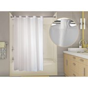 WINGINTS PREHOOK SHOWER CURTAIN, 150 DENIER POLYESTER, 71 IN. X 74 IN., WHITE