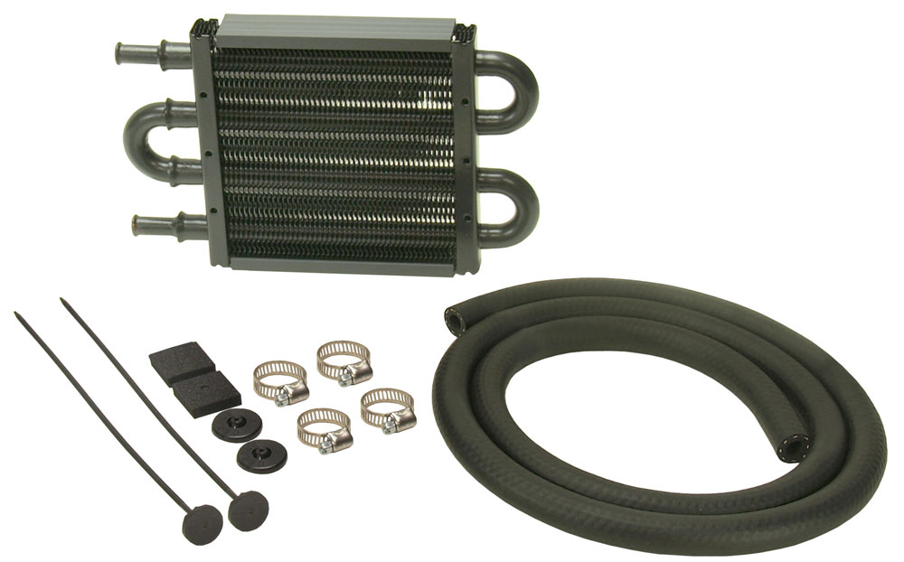 DERALE 8-1 8 x 5 x 3 4 in Power Steering Fluid Cooler Kit P N 13212 by DERALE