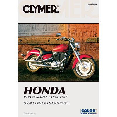 Clymer Repair Manuals For Honda Shadow 1100 Vt1100 1997 1999
