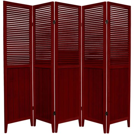 6 39 tall beadboard room divider for Asian furniture dc