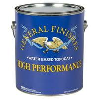 General Finishes, High Performance Polyurethane Topcoat, Semi-Gloss, Gallon