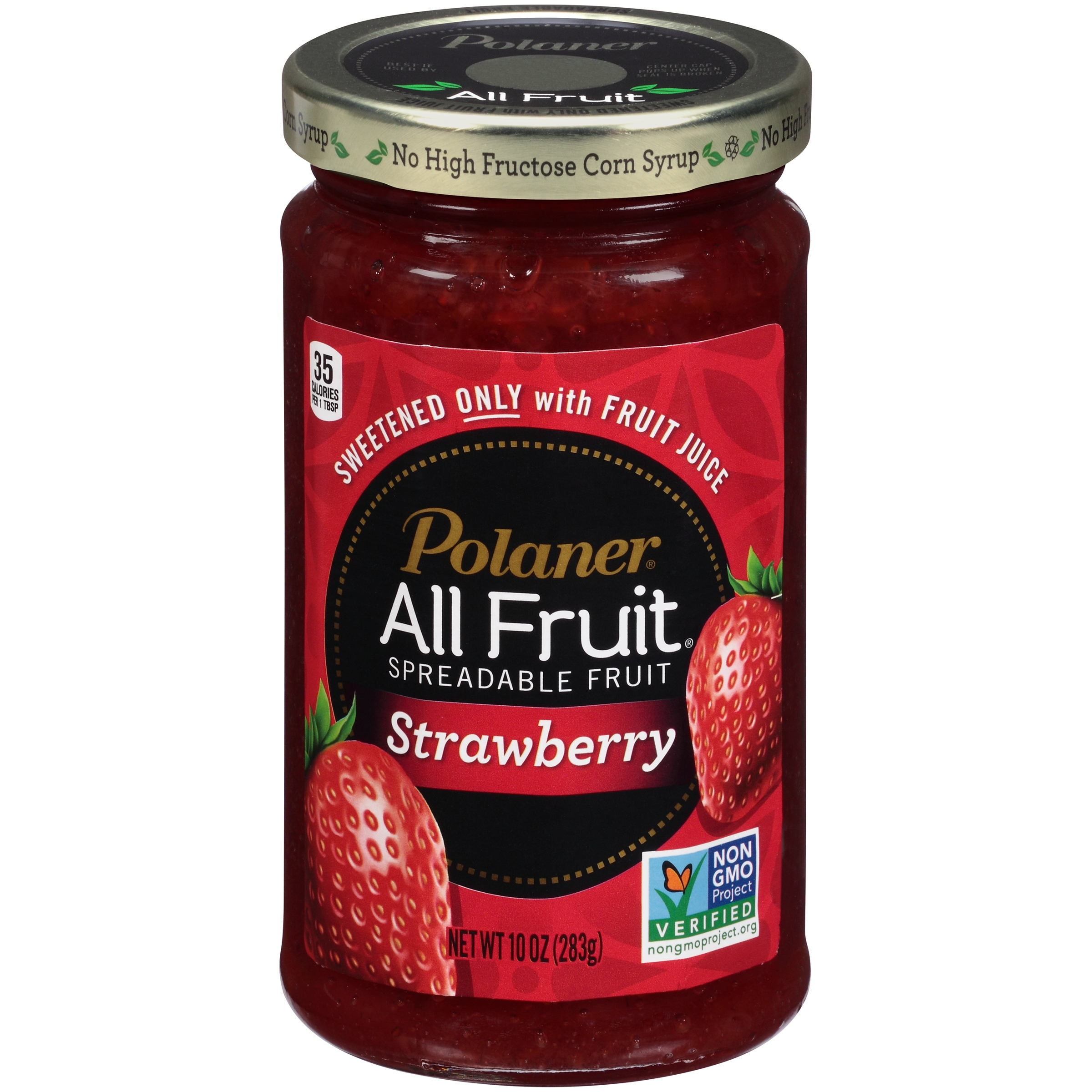 Polaner® All Fruit® Strawberry Spreadable Fruit 10 oz. Jar