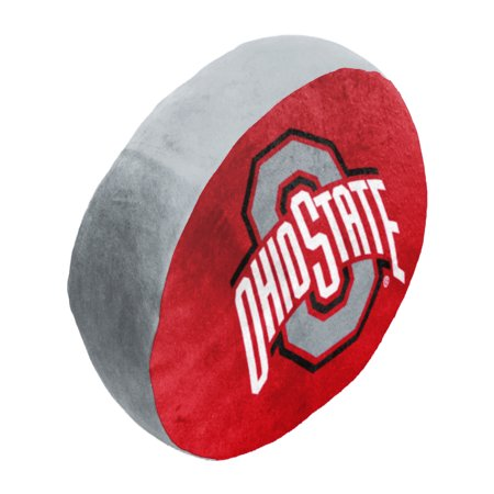 """- NCAA - Ohio State Buckeyes , 15""""x 2"""" 3D Ultra Stretch Travel Cloud Pillow"""