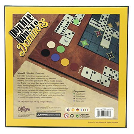 Calliope CLP107 Double Double Dominoes Game - image 4 of 4