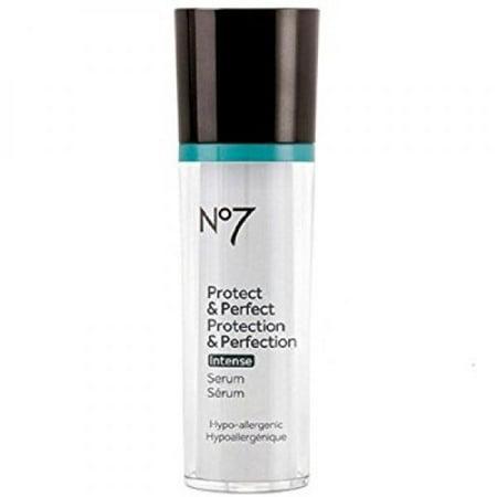 Boots No7 Protect and Perfect Intense Facial Serum 1 Ounce (No 7 Protect And Perfect Intense Serum)