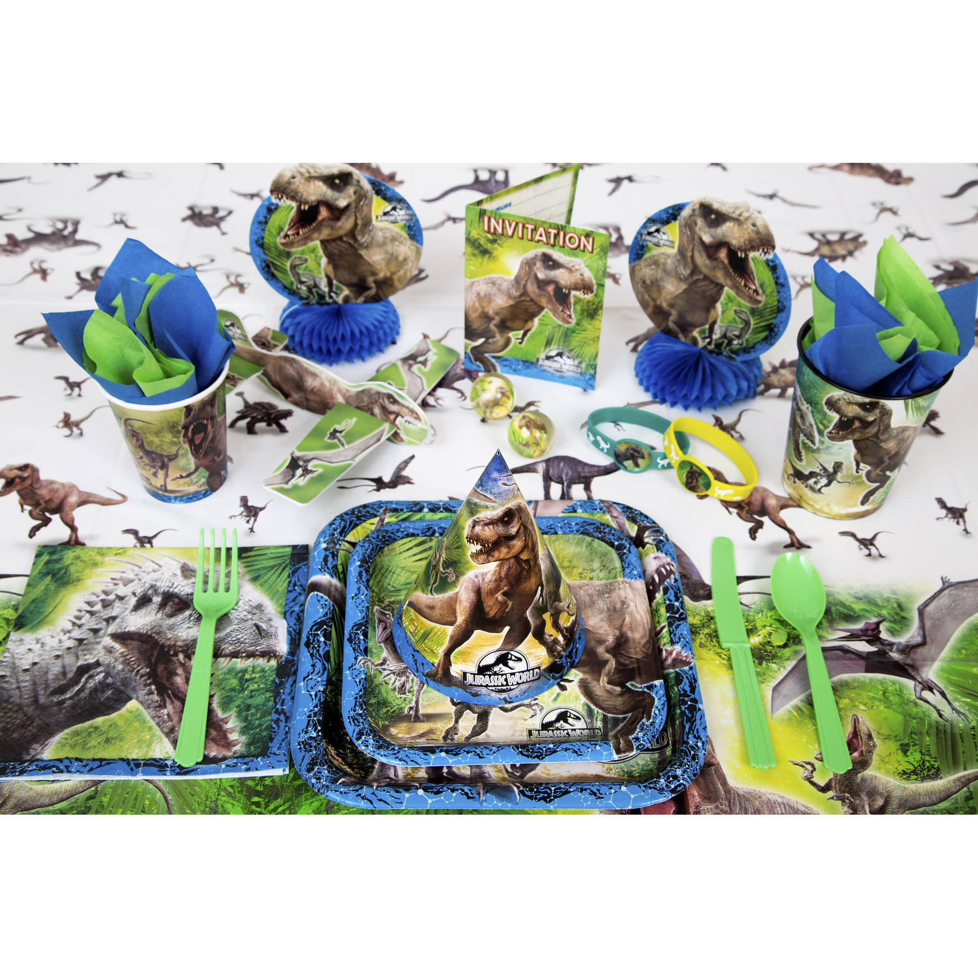 Jurassic World Party Supplies Walmartcom