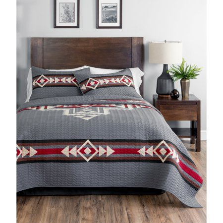 Crossroads 3 Piece Quilt Set By Pendleton Walmart Com