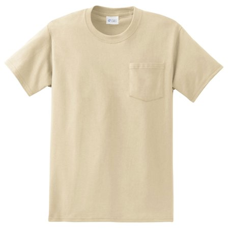 Port & Company Men's Big And Tall Essential Pocket T-Shirt Big And Tall Men Shirts