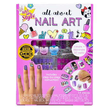 Just My Style All About Nail Art, 1 Each - Art Kit