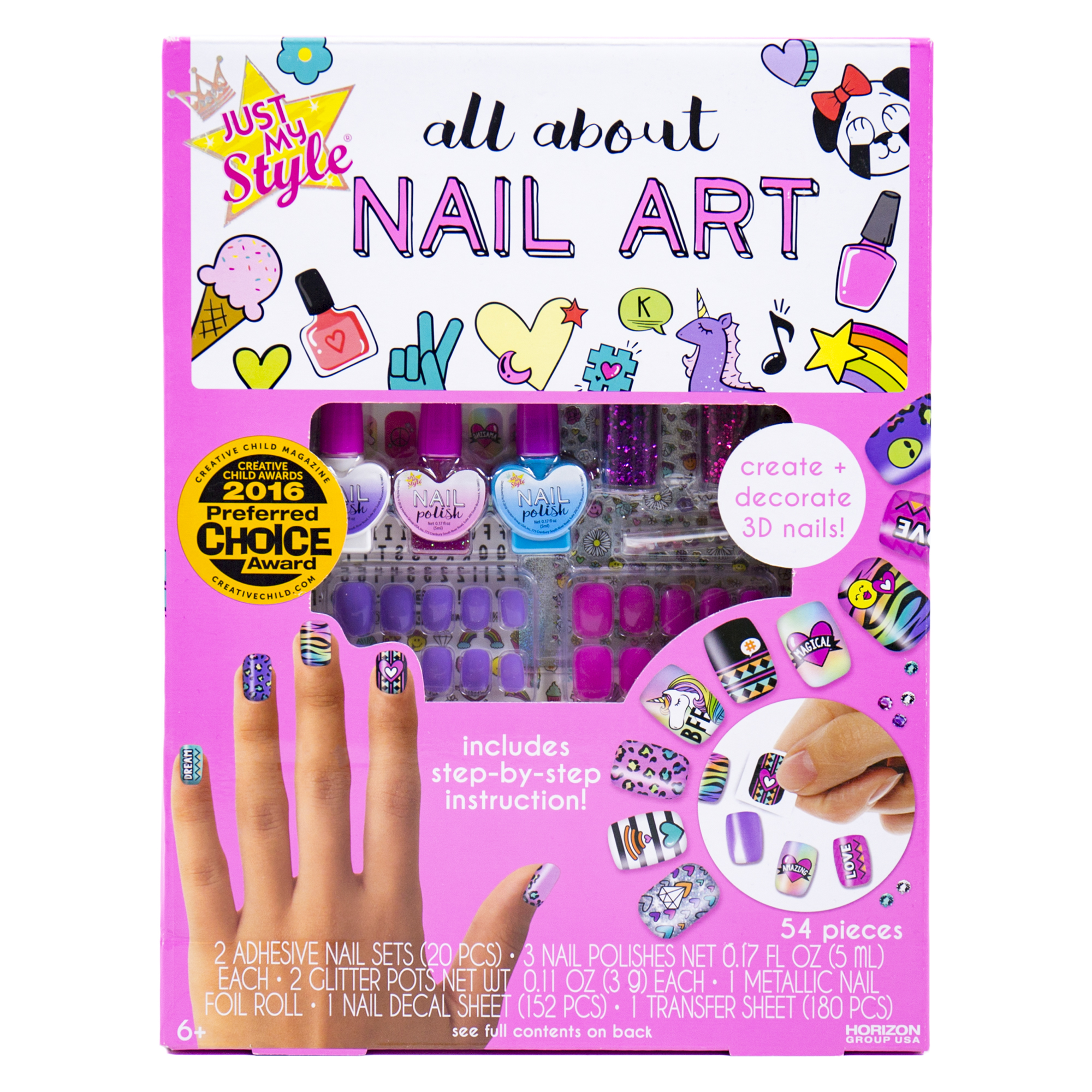 Just My Style All About Nail Art, 1 Each