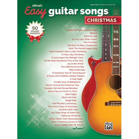 Alfred's Easy Guitar Songs -- Christmas: 50 Christmas Favorites (Paperback) ()