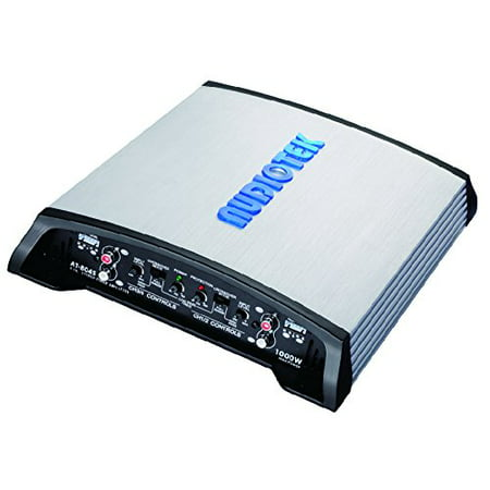Audiotek At804S 4 Channel Class Ab 2 Ohm Stable 1000W Stereo Power Car Amplifier