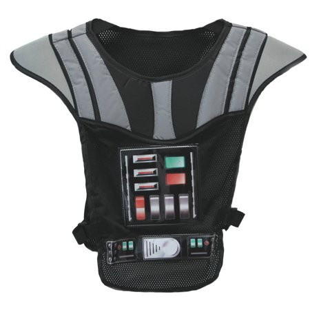 Bell Star Wars Darth Vader Reflective Safety Vest, Black - Darth Vader Boots