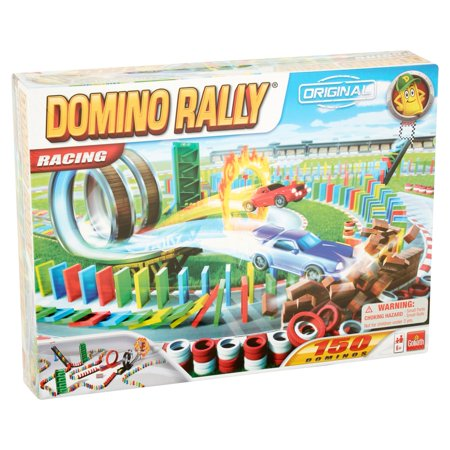 Goliath Games Domino Rally Original Racing Toy 6 and Up