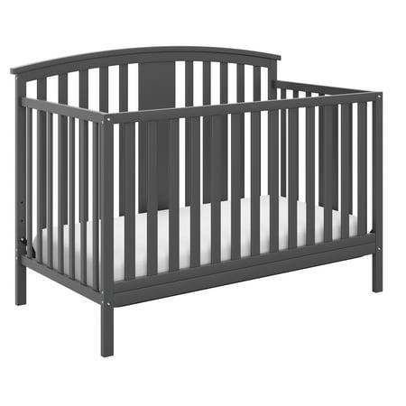 Storkcraft Greyson 4 in 1 Convertible Crib Gray