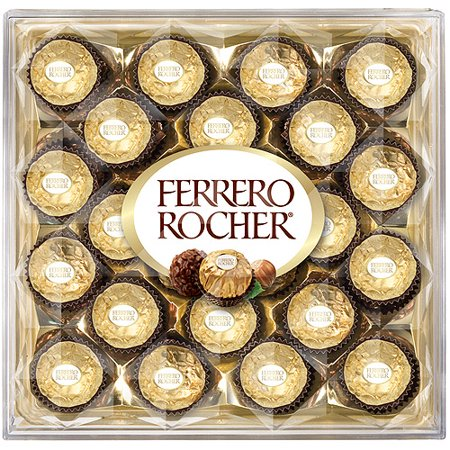 Ferrero Rocher Fine Hazelnut Chocolates 24ct