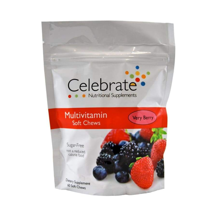 Celebrate Sugar-Free Multivitamin Soft Chew - Available in 3 Flavors!